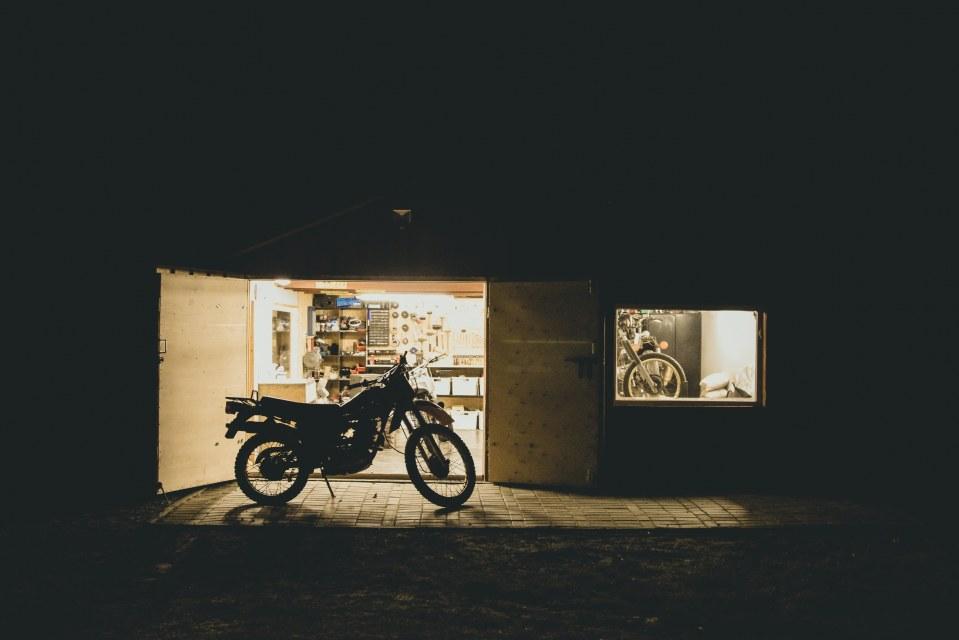 Odpicowany garaż